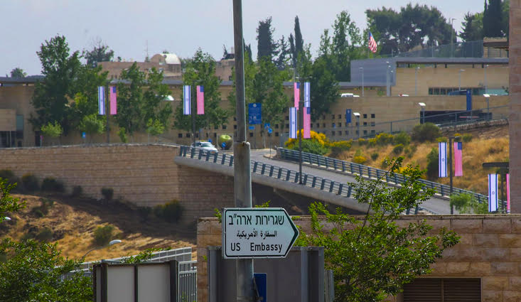 America's Embassy Opening in Jerusalem Affirms Israel's Sovereignty