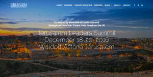 The First and Second Jerusalem Leaders Summit Events