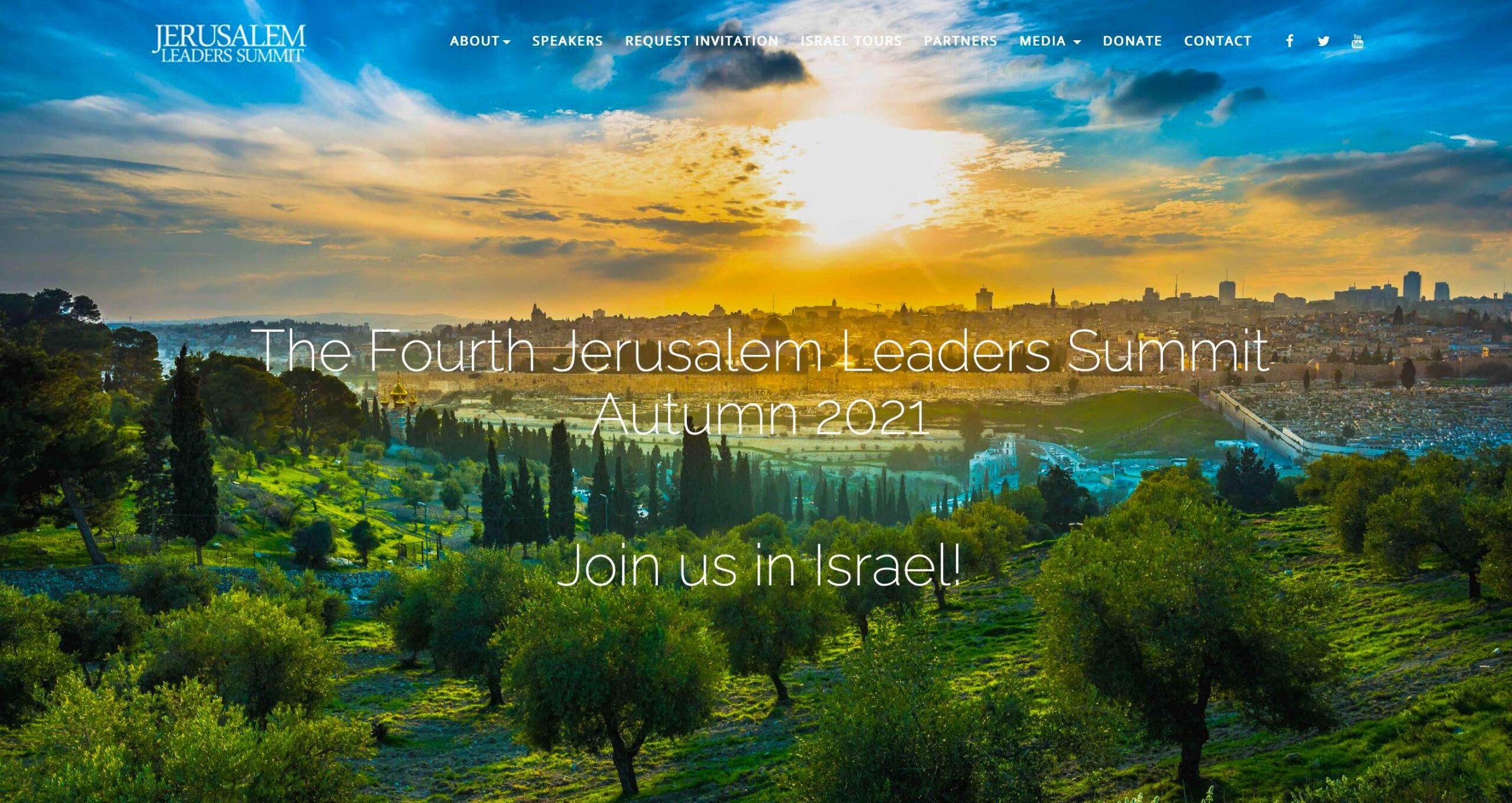 2021 JERUSALEM LEADERS SUMMIT