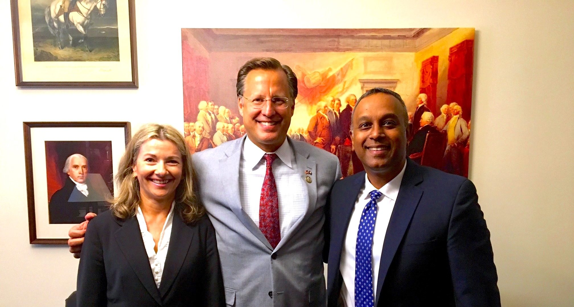 US Congressman David Brat Joins the International Leaders Summit's Executive Advisory Board