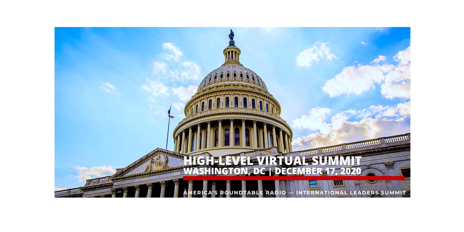 Updated – Virtual Summit – International Leaders Summit – America's Roundtable